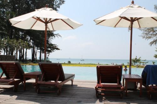 Infinity Pool Overlooking the Andaman Sea.