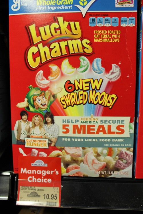 At US $8.60, Lucky Charms Ain't So Magically Delicious.