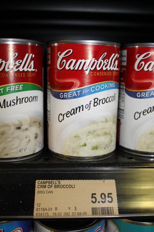 Cream of Broccoli Soup Isn't Worth US $4.67.