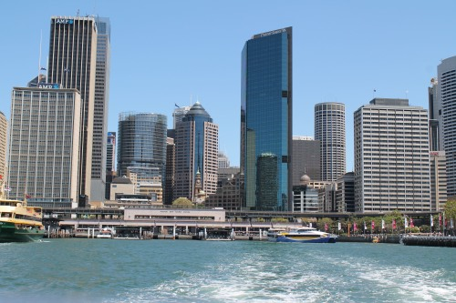 Circular Quay (Our Starting Point for Most Ferries.)