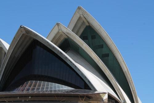 Opera House Up Close.