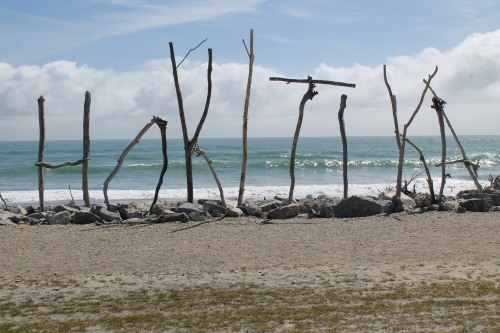 We Stayed in the Beach Town of Hokitika.